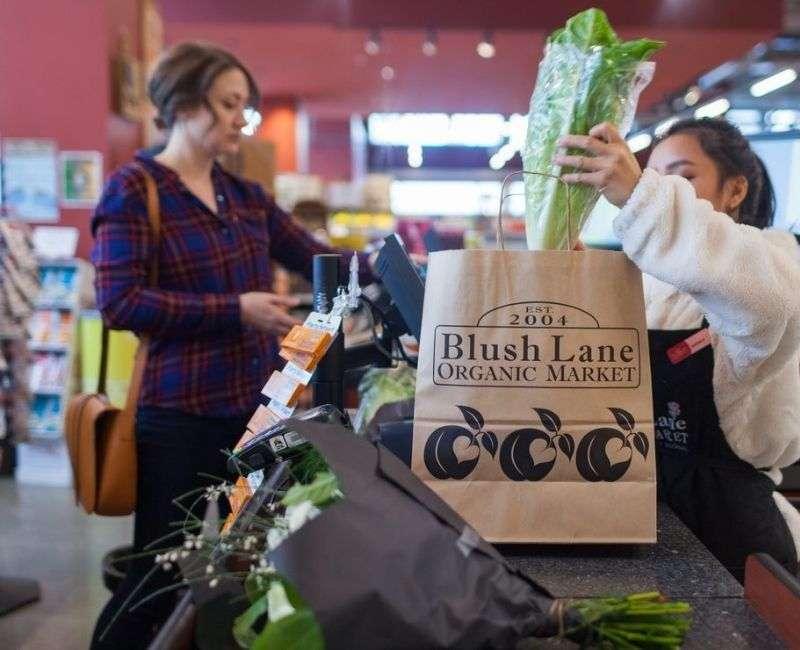 Blush lane Organic Markets