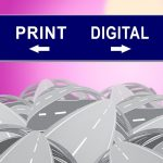 image comparing digital and print marketing