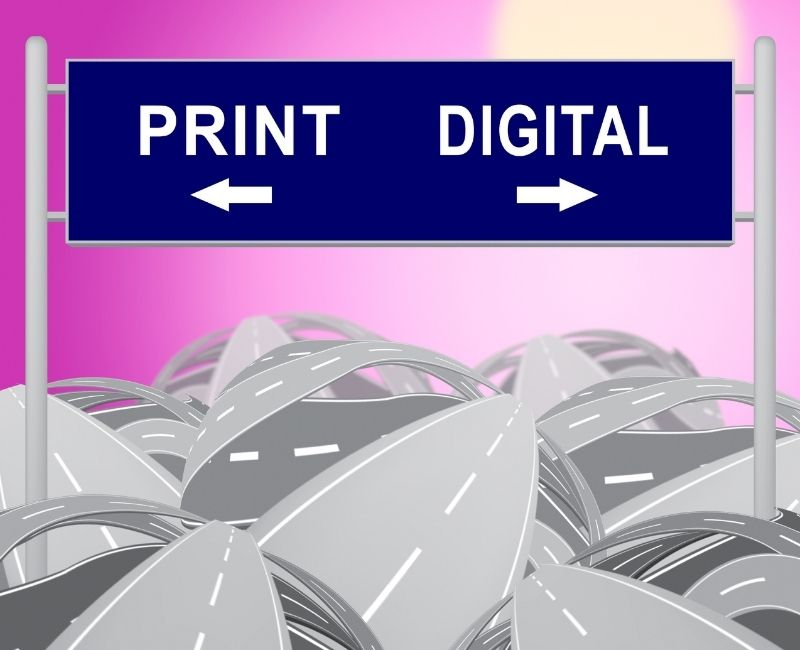 Digital Vs. Print Advertising: Which is Better for Brand Recall?