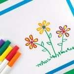 children's art card fundraiser